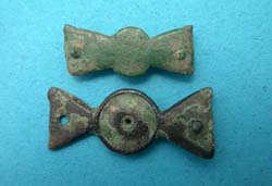 Belt Mount, Propellor-type Duo, ca. 4th Cent.